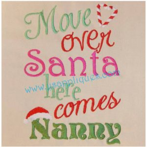Move Over Santa Here Comes Nanny