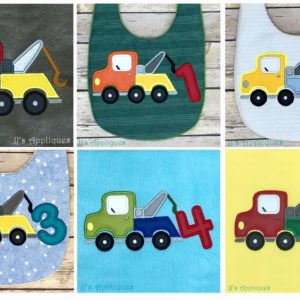Tow Truck Set of 6